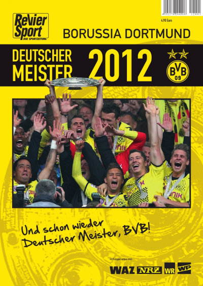 Cover - BVB Meisterheft 2012