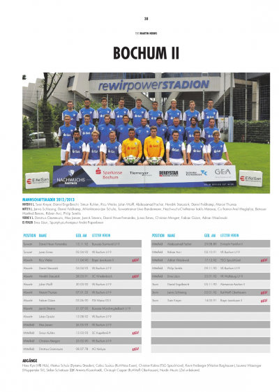 Cover - Sonderheft Regionalliga West