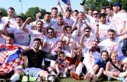 Croatia Mülheim Aufstiegsfeier