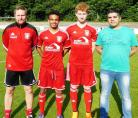 Lüner SV, Mario Plechaty,  Phil Rosenkranz, Luis Asante, Hasan Kayabasi