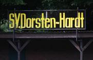 Landesliga, SV Dorsten-Hardt, Saison 2014/15, Schrifbande, Landesliga, SV Dorsten-Hardt, Saison 2014/15, Schrifbande
