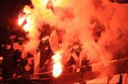 Braunschweig, Hannover, Saison 2013/2014, Pyro Derby, Randale, Feuer, Braunschweig, Hannover, Saison 2013/2014, Pyro Derby, Randale, Feuer