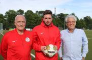 Von links: Co Trainer Andreas Nauroschat, Trainer Fabian Eins, Sportl. Leiter Kurt Nauroschat