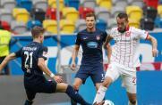 Irres Finish in Düsseldorf: Kiel rückt Fortuna auf die Pelle