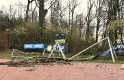 Sturm: Schwere Schäden bei Freisenbruch und Polonia Bottrop