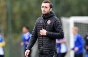 RWE-U19-Trainer Damian Apfeld -