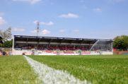 Das Niederrheinstadion, die Heimat von Rot-Weiß Oberhausen.