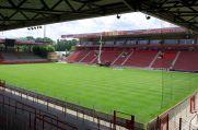 Die Alte Försterei, Stadion des 1. FC Union Berlin.