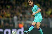 Der frühere Schalke-Profi Ivan Rakitic trägt seit 2014 das Trikot des FC Barcelona.