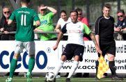Dominik Immanuel (im weißen Trikot) spielte bereits lange Jahre für den FC Kray.
