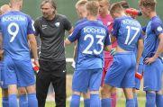 Knapp ein Jahr her: Trainer Matthias Lust mit der U19 des VfL Bochum, die er auf den siebten Tabellenplatz führte.