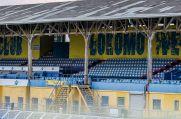 Das Bruno-Plache-Stadion, die Heimat von Lokomotive Leipzig und seinen Fans.