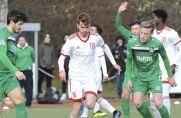 Die SG Finnentrop/Bamenohl (grüne Trikots) spielt in der kommenden Saison in der Oberliga Westfalen.