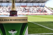 Im Niederrheinpokal-Finale im Stadion Essen treffen RWE und der 1. FC Kleve aufeinander.