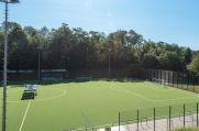 Die Spielstätte des TSV Heimaterde.