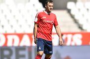 Nedzad Dragovic vom 1. FC Kleve ist der viertälteste Spieler der Oberliga Niederrhein.