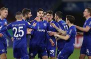 Der FC Schalke 04 zieht nach dem Sieg gegen Ulm ins DFB-Pokal-Achtelfinale ein.