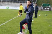Dennis Ruess, Trainer des 1. FC Monheim.