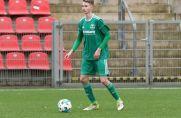 Ihn zieht es nach Albanien: Tim Brdaric, hier noch im Trikot von Arminia Klosterhardt, verlässt den 1. FC Monheim.