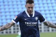 VfL Bochums Danny Blum bejubelt sein Tor zum 2:0.