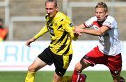 Borussia Dortmund II und Rot-Weiss Essen liefern sich in der Regionalliga West einen engen Zweikampf.