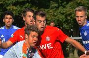 Marius Speker (links) spielte einst im Nachwuchs von Rot-Weiss Essen.