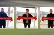 Berkan Koc, Leandro Fünfsinn und Andreas Busik bleiben dem Verein erhalten.