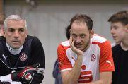 Dennis Brinkmann (rechts), hier mit Frank Kurth, spielt auch für die Traditionsmannschaft von Rot-Weiss Essen.