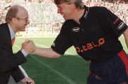 Werder-Bremen-Manager-Legende Willi Lemke (links) installierte einst Wolfgang Sidka als Trainer.
