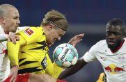 Der BVB muss gegen RB Leipzig wohl auf Erling Haaland verzichten.