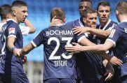 Kollektiver Jubel bei den Spielern des VfL Bochum.