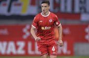 Noah Korczowski absolvierte auch elf Spiele für Rot-Weiss Essen.