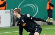 Hier trifft Justin Eilers im Dresden-Trikot im DFB-Pokal gegen den VfL Bochum.