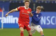 Hier noch gegen Schalke, in Zukunft für S04: Marius Bülter.