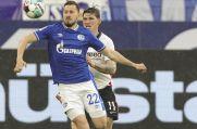 Steven Skrzybski (links) stand auf Schalke insgesamt drei Jahre unter Vertrag.