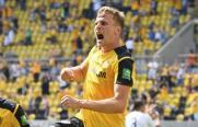 2. Liga: Dresden brennt Feuerwerk ab, Rostock verliert