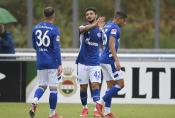 Blendi Idrizi vom FC Schalke 04. Foto: firo
