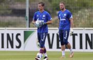 Schalke 04: Fährmannzurück im Training