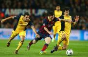 FC Barcelona, Lionel Messi, Tiago, Atletico Madrid, Saison 2013/2014, FC Barcelona, Lionel Messi, Tiago, Atletico Madrid, Saison 2013/2014