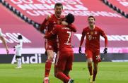 BL: Gnabry und Lewandowski bei Bayern-Sieg in Leipzig verletzt