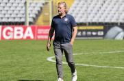 Wuppertaler SV: Suche nach Verstärkung - Sarpei im Training