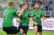 Regionalliga: Münster, RWO und WSV bleiben an RWE dran