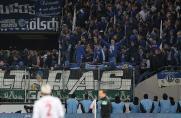 Rostock vs. Schalke: Fanlager prallen in der Stadt aufeinander