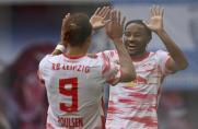 Bundesliga Wolfsburg verliert Anschluss - Leipzig zerlegt die Hertha