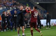 Schalke: Mike Büskens über Hansa-Fans und Bus-Schikane