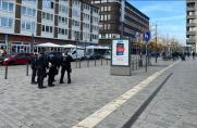 S04 gegen SGD: Hubschrauber im Einsatz - Polizistin wird angefahren