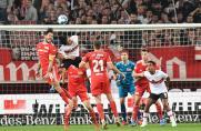 Bundesliga: Last-Minute-Tor rettet Stuttgart einen Punkt