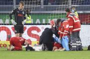MSV-FCK: Kopfverletzung! So geht es Felix Götze