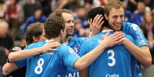Volleyball: RWE Volleys schon auf Platz drei