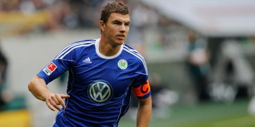 Wolfsburg: Dzeko ist nicht sauer